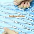 新型不鏽鋼絲繩夾扣網 10
