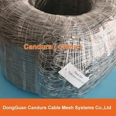 不鏽鋼絲繩柔韌護欄網