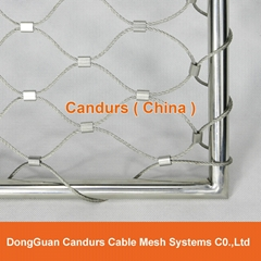 Architectural Stainless Steel Flexible Wire Rope Mesh