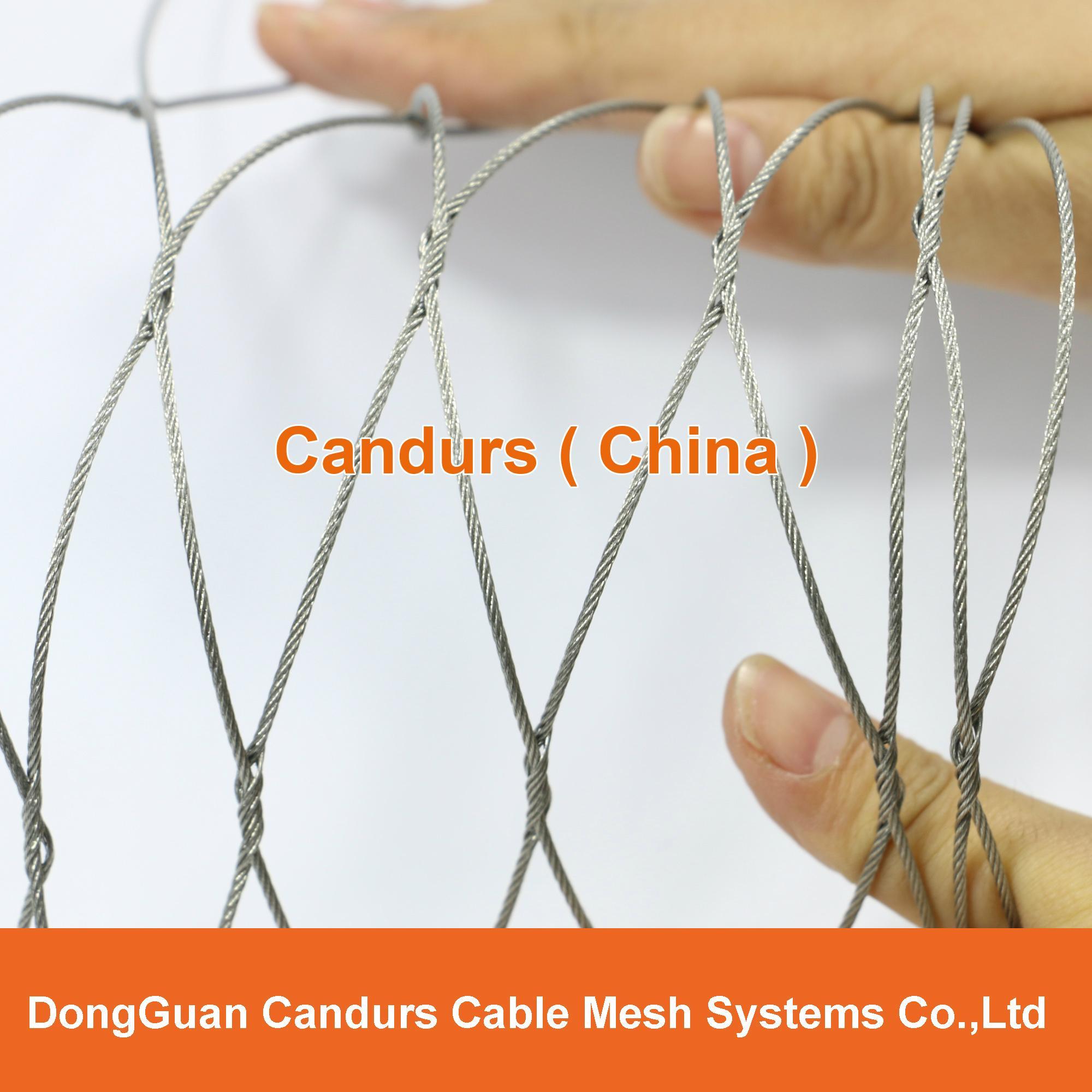 柔性不锈钢丝绳网(编织型) 1