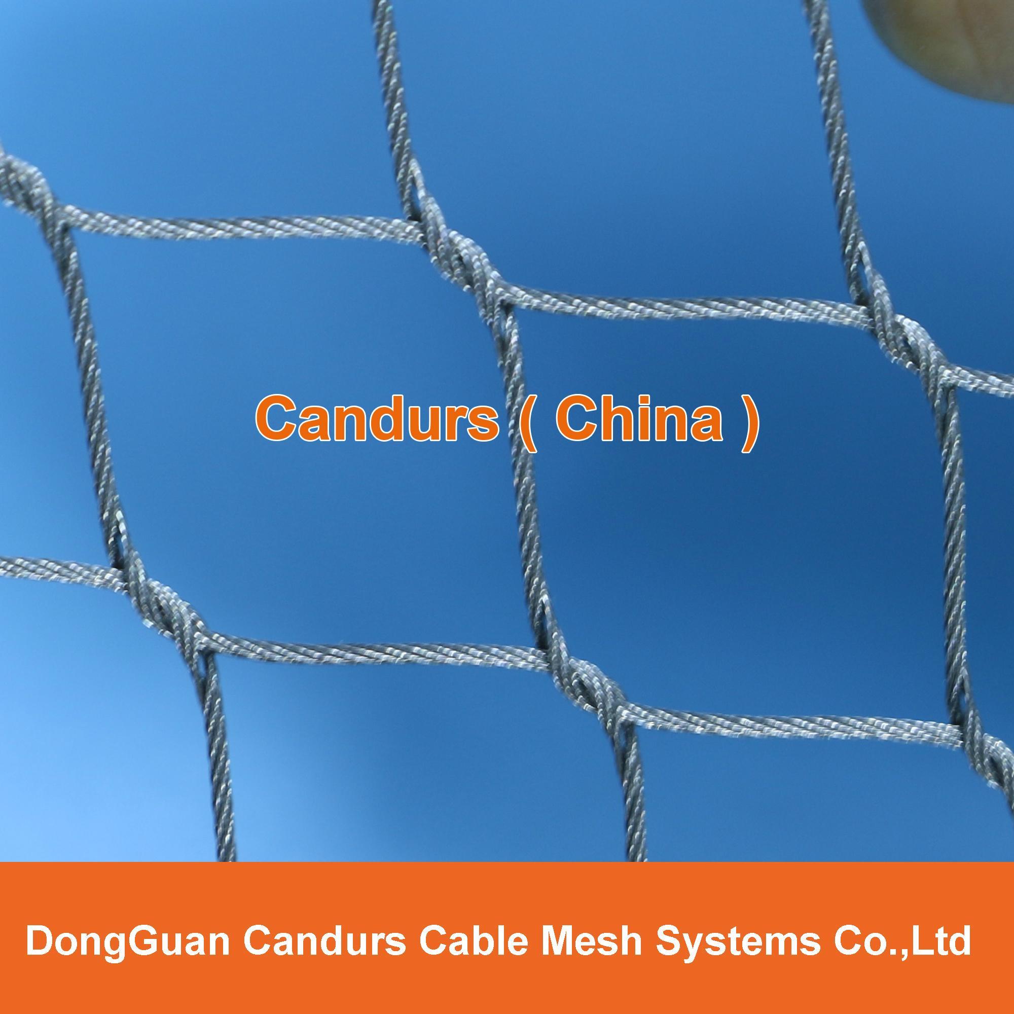 柔性不锈钢丝绳网(编织型) 2