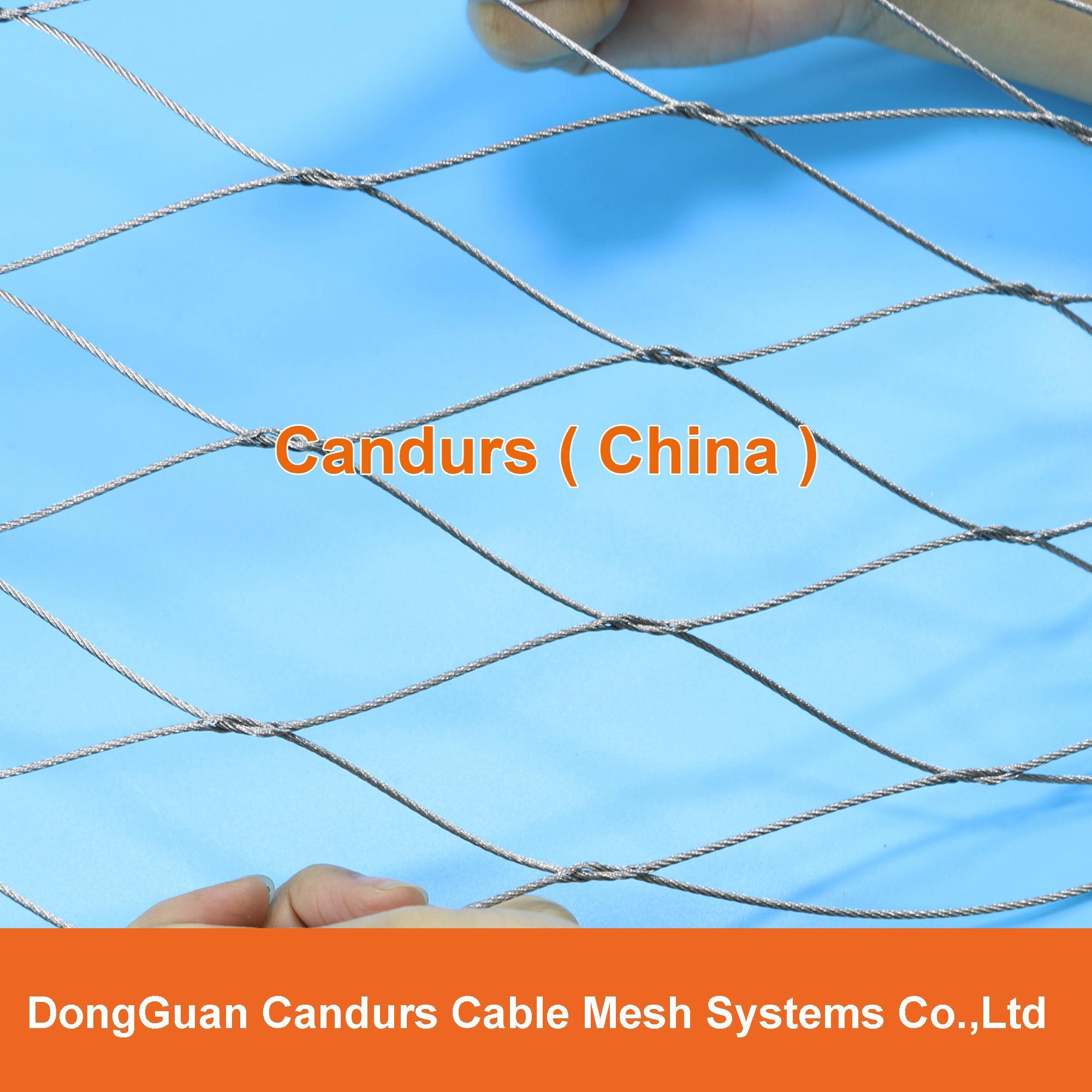 柔性不锈钢丝绳网(编织型) 3