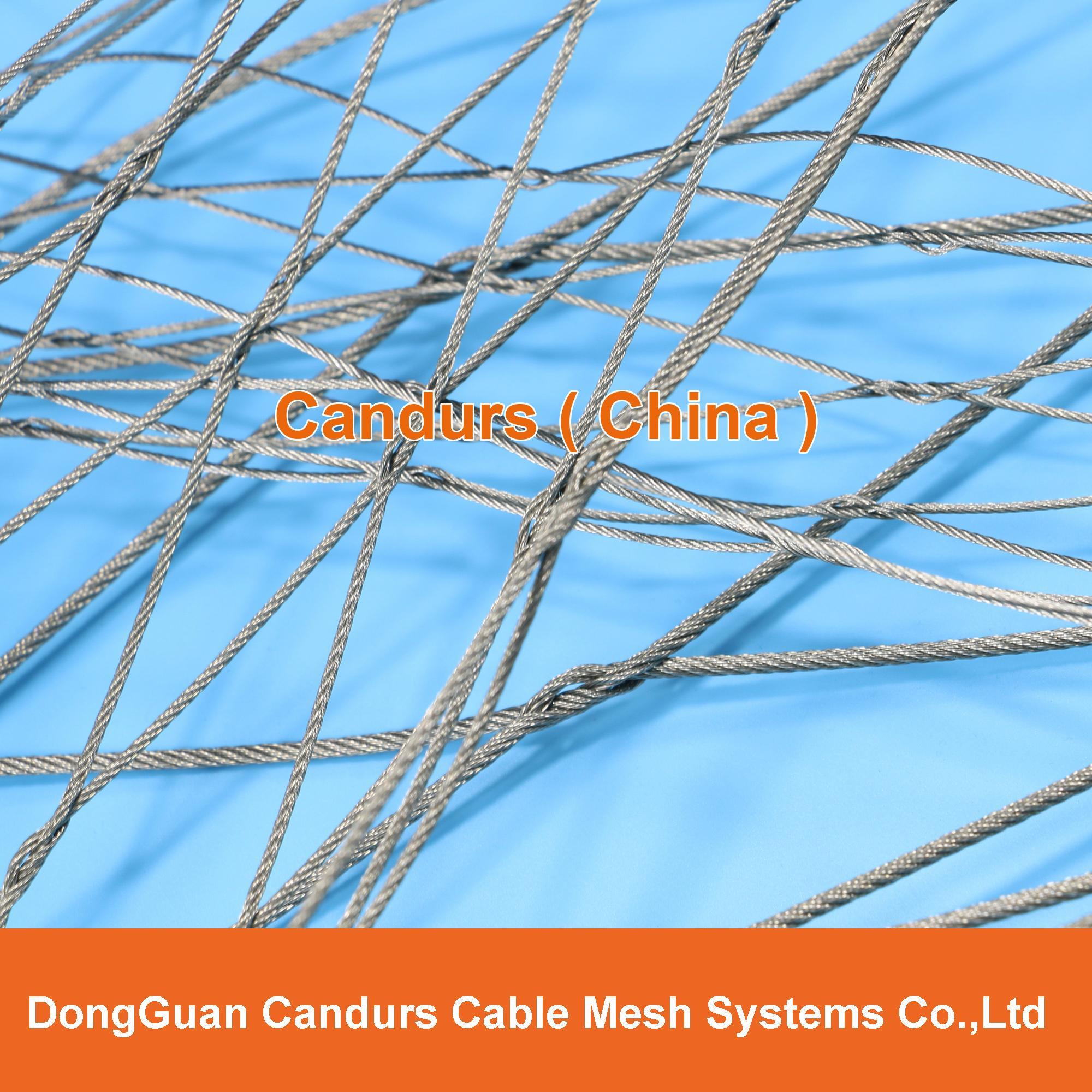 柔性不鏽鋼絲繩網(編織型) 4