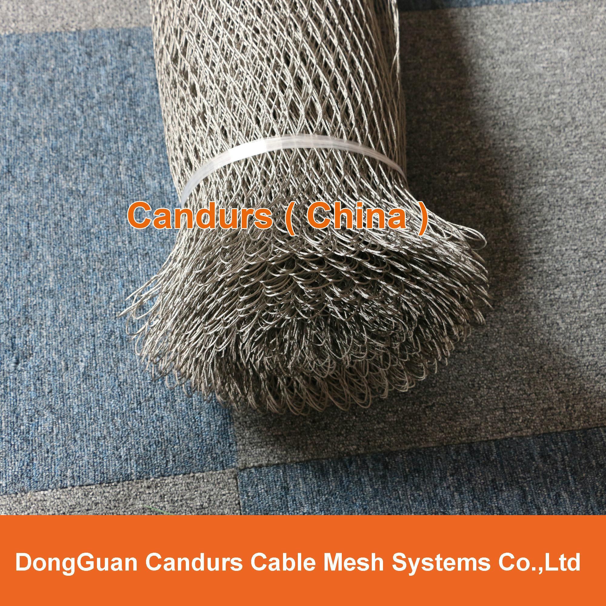 柔性不锈钢丝绳网(编织型) 5