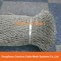 Flexible Stainless Steel Cable Mesh(Inter-woven Type)