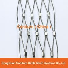 動物園專用不鏽鋼絲繩套環網