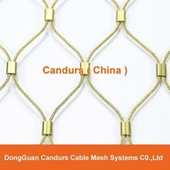 手工不锈钢丝绳装饰网
