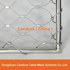 不鏽鋼繩軟網片