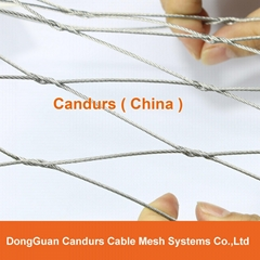 Woven Stainless Steel Wire Rope Mesh