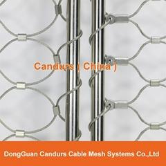 邊框不鏽鋼絲繩網