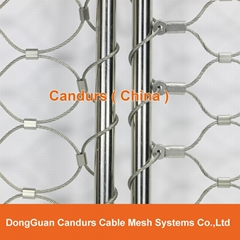 Stainless Steel Cable Net Tubular Frame (Hot Product - 1*)