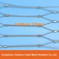 柔性不锈钢丝绳防护网片 13