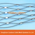 美标316不锈钢丝绳套环网 15