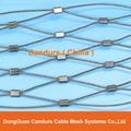 美标316不锈钢丝绳套环网 3