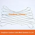 不锈钢丝绳隔离网 5