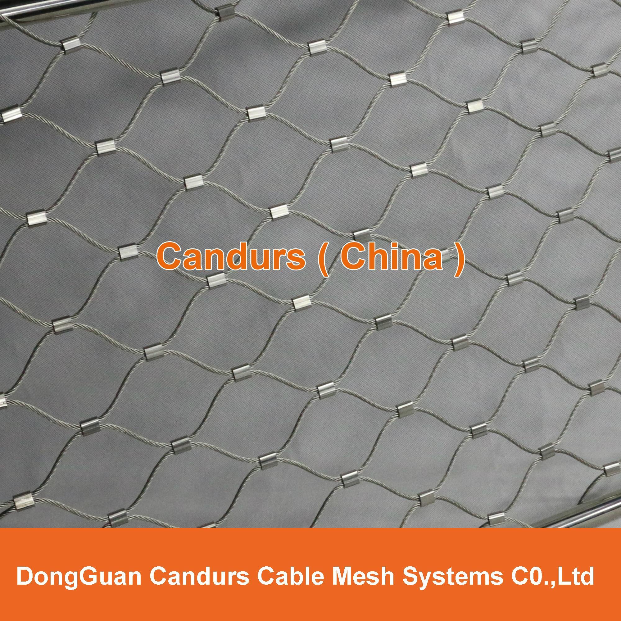 不鏽鋼絲繩隔離網 12
