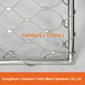 不鏽鋼絲繩安全圍欄網 14