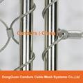不锈钢丝绳动物园围栏网 5