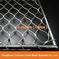 不锈钢丝绳体育围栏网 9