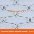 供應不鏽鋼壓扣鋼絲繩網 8