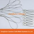 供應不鏽鋼壓扣鋼絲繩網 15