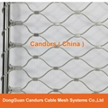 Stainless Steel Wire Rope Protection Mesh