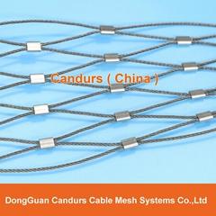 新工藝不鏽鋼扶手網