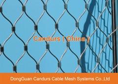 不锈钢丝绳幕墙网