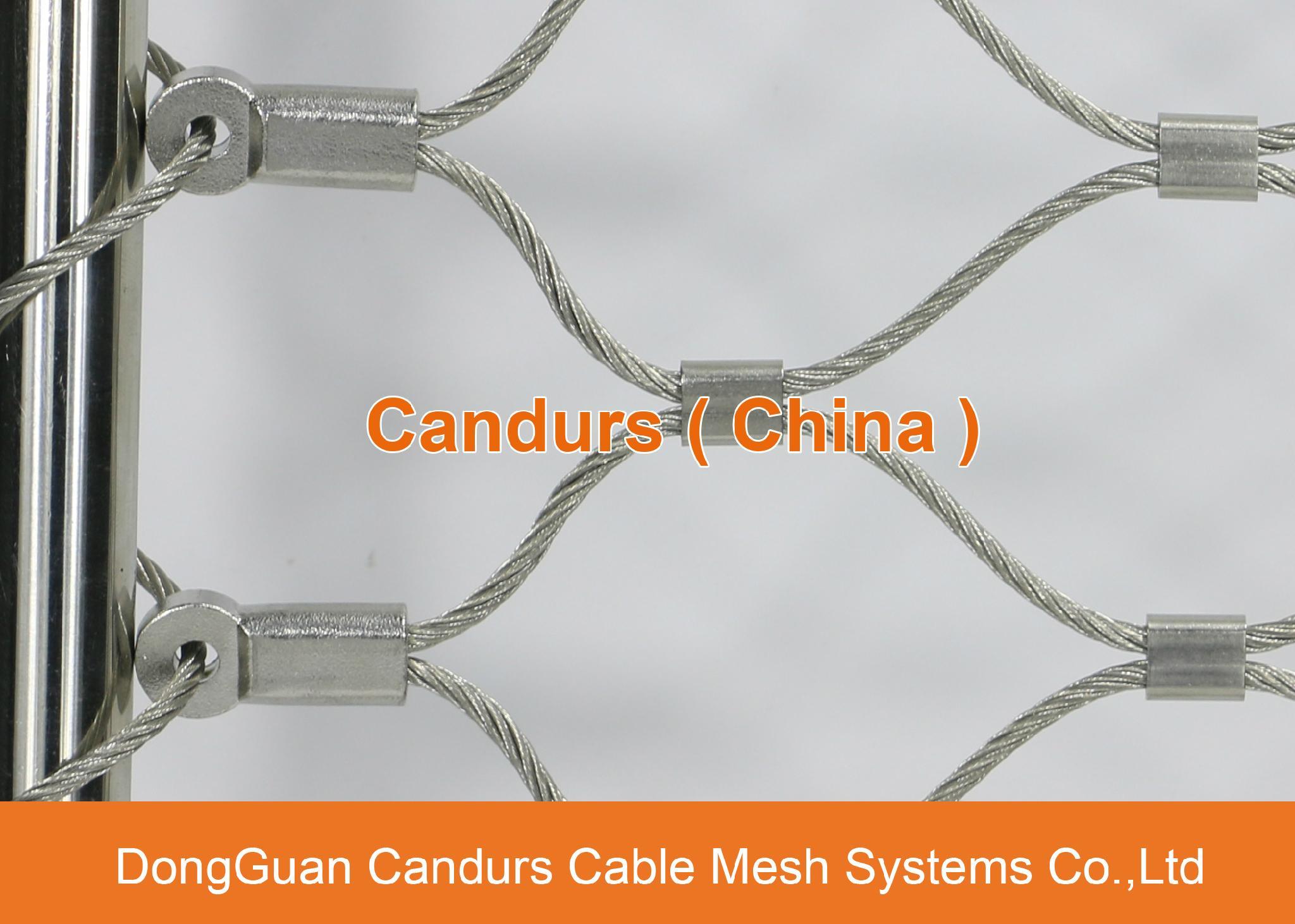 不鏽鋼絲繩幕牆網 17
