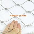 新型不鏽鋼絲繩夾扣網 17