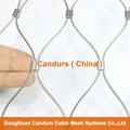 新型不鏽鋼絲繩夾扣網