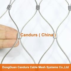新型不锈钢丝绳夹扣网