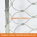 AISI 316 Flexible Inox Wire Rope Netting