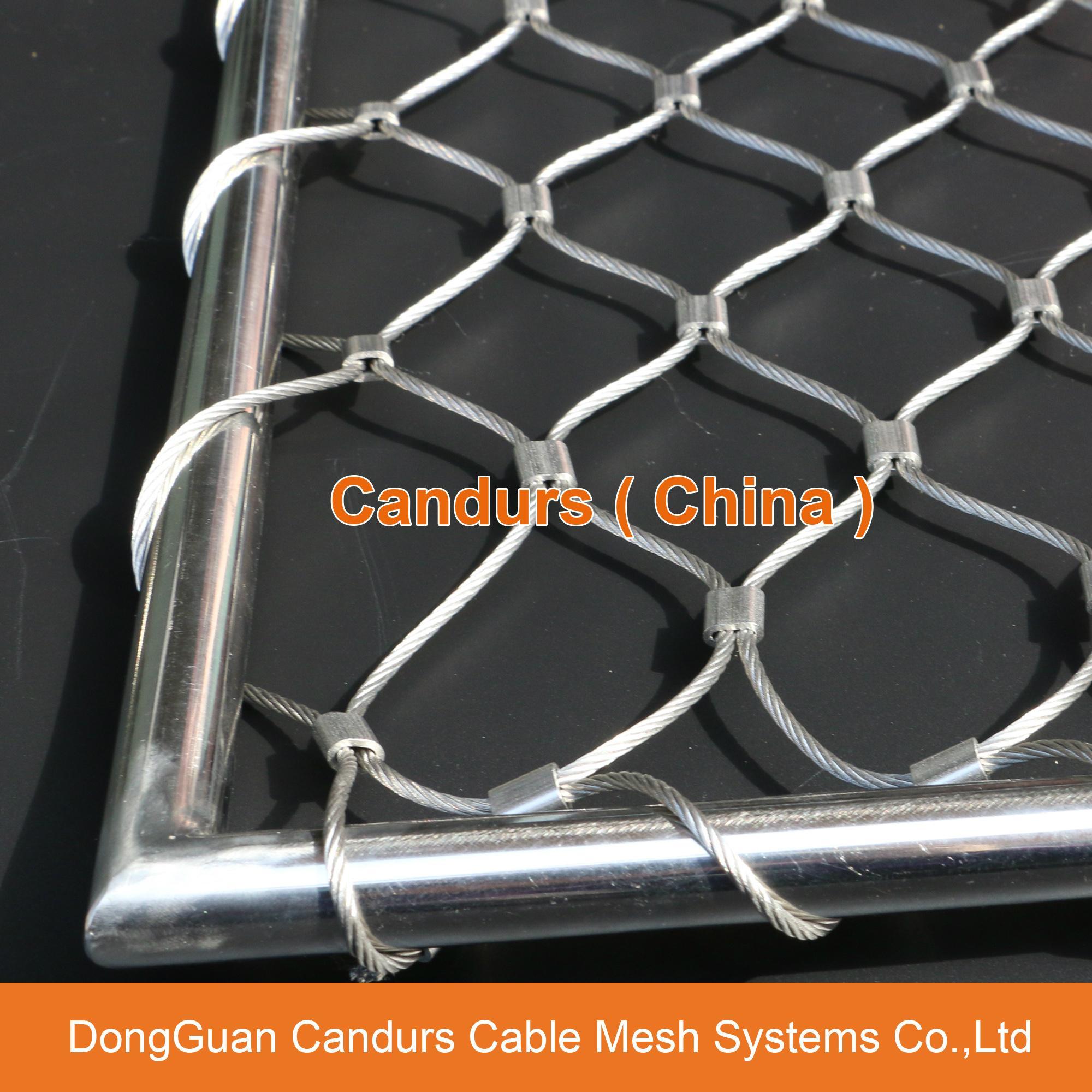 優質不鏽鋼裝飾防護網 1