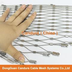 室外不锈钢丝绳防护网板
