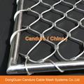 1.5毫米不锈钢丝绳扣网护栏 6