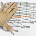 1.5毫米不鏽鋼絲繩扣網護欄 14