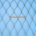 Ferruled Stainless Steel Cable Wire Rope Parrots Enclosure Mesh In Zoo