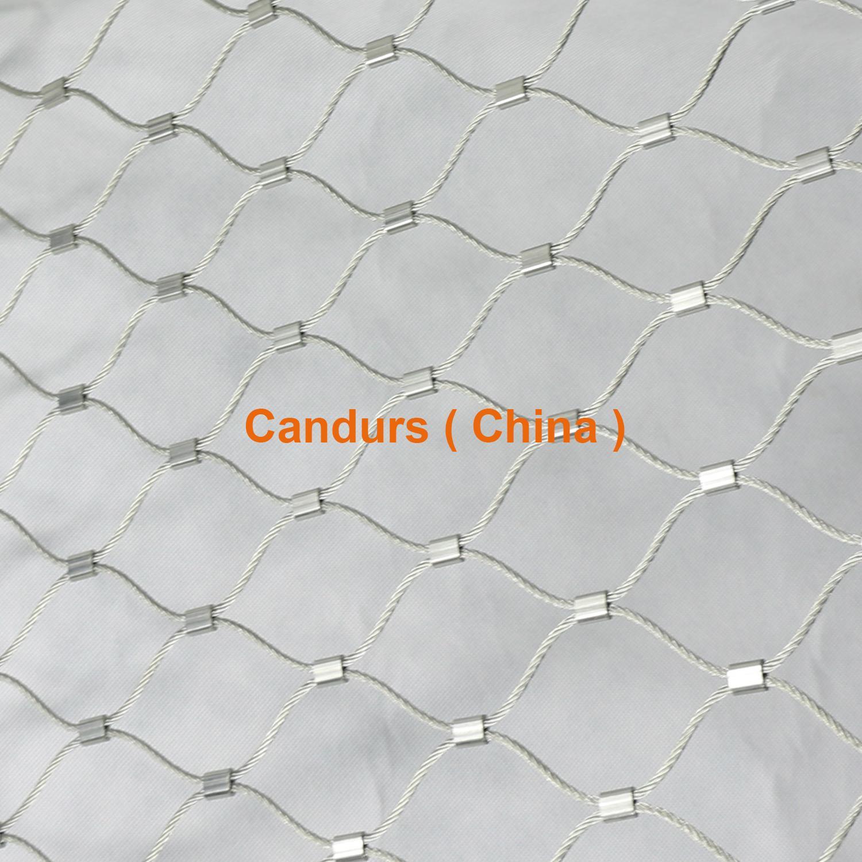 1.5毫米不鏽鋼絲繩扣網護欄 20