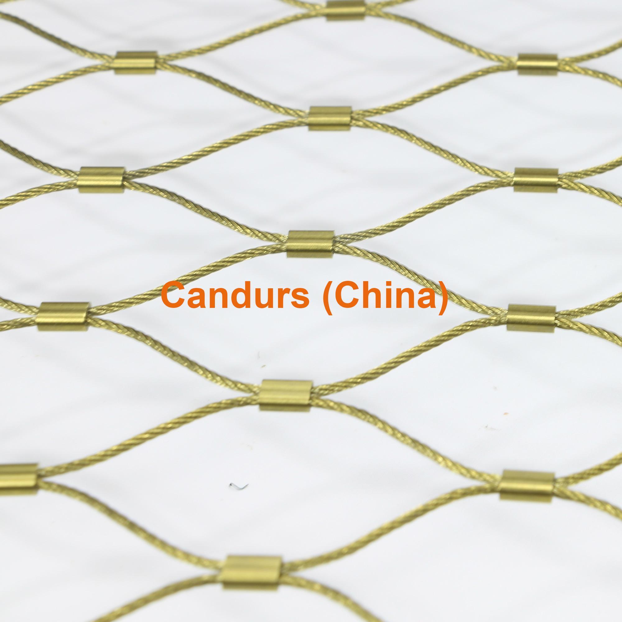 不鏽鋼繩建築柔性防護網 3