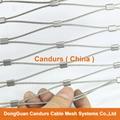 不锈钢绳建筑柔性防护网 13