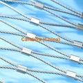 不锈钢绳建筑柔性防护网 4
