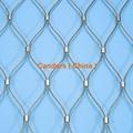 室内防坠落装饰不锈钢柔性护栏网 5