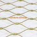 室內防墜落裝飾不鏽鋼柔性護欄網 2
