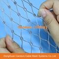 不鏽鋼繩樓梯防護網 2