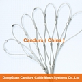 Diamond Ferruled Stainless Steel Wire