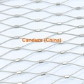 Diamond Ferruled Stainless Steel Wire Rope Cable Balustrade Balcony Infill Mesh