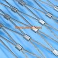 不锈钢绳楼梯防护网
