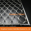 Stainless Steel Wire Rope Mesh Balustrade