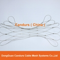 Stainless Steel Wire Cable Sleeve Mesh